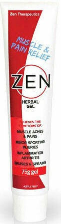 Anti-Inflammatories & Pain Relief, Zen Herbal Pain Relief Gel 75g