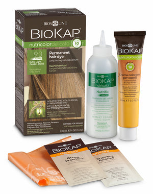 Hair Dye's, Biokap 9.3 Extra Light Golden Blond