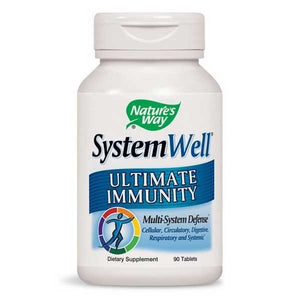 Coughs/Cold & Immunity, Nature's Way SystemWell 90 Tablets