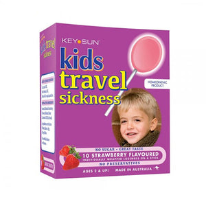 Kids Travel Sickness Lollipops 10's