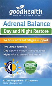 Adrenal Fatigue, Good Health Adrenal Balance Day & Night Formula 60 Capsules