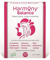 Women's Health & Well being, Harmony Balance 60 Tablets