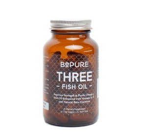 BePure THREE Fish Oil 60 Soft Gels