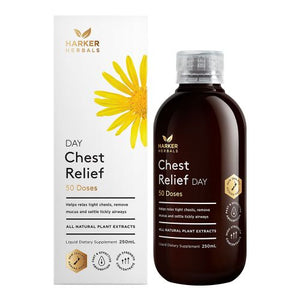 Liquid Herbs, Be Well Chest Relief Day 250ml