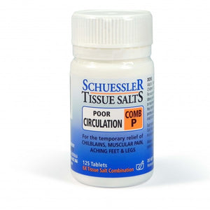 Schuessler Tissue Salts Combination P 125's