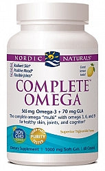 Joint & Arthritis Care, Nordic Naturals Complete Omega 565mg 60 Soft Gels  - Lemon