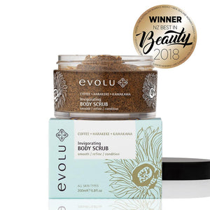 Body & Bath Care, Evolu Invigorating Body Scrub 200ml