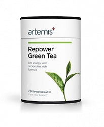 Teas & Drinks, Artemis Repower Green Tea 30gm