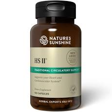 Circulation/Heart, Nature's Sunshine HS II  100 Capsules
