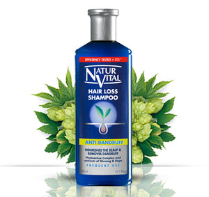 Natur Vital Hair Loss SHampoo 300ml Anti Dandruff
