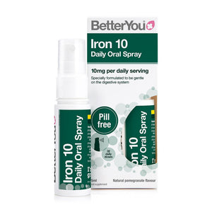 BetterYou Iron 10 Daily Oral Spray 25ml