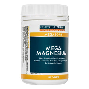 Ethical Nutrients Mega Magnesium 120's