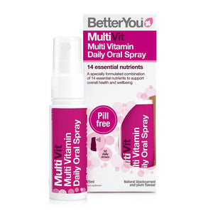 BetterYou MultiVitamin Daily Oral Spray 25ml