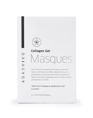 Collagen & Silica, Adashiko Collagen Gel Masque 5x15ml