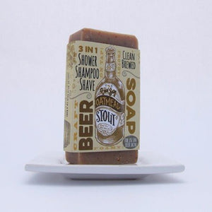 Men's Body Care, Oatmeal Stout Beer Soap