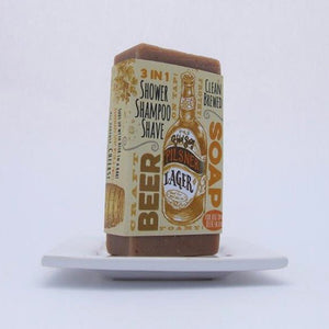 Men's Body Care, Pilsner Lager Beer Soap