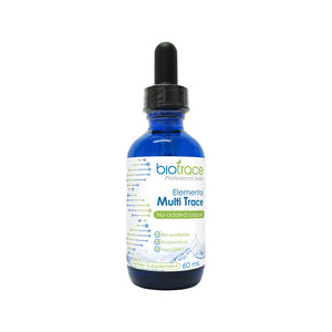 Supplements, BioTrace Elemental Multi-Trace(No Copper) 60ml