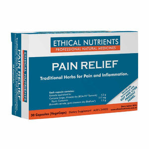 Anti-Inflammatories & Pain Relief, Ethical Nutrients Pain Relief 30 Capsules