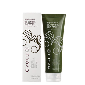 Evolu Triple Action Oil Control Mask 75ml
