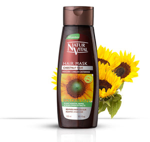 Hair Care, Natur Vital Chestnut Hair Mask 300mls