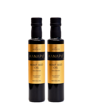 2 x Kanapu Hemp Seed Oil 250ml