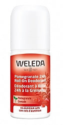 Deodorant, Weleda Pomegranate 24h Roll-On Deodorant
