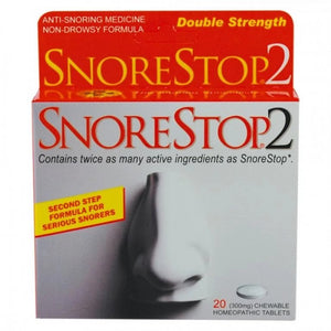 Snore Stop -2 20 Chewable Tablets