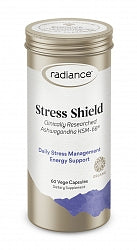 Stress, Radiance Ashwagandha Stress Shield 60 Capsules