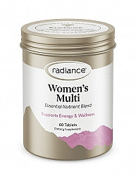 Women's Health & Well being, Radiance Multi for Women 60 Tablets