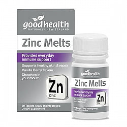 Vision/Eye Formulations, Good Health Zinc Melts 60's