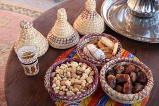moroccan dates and tea