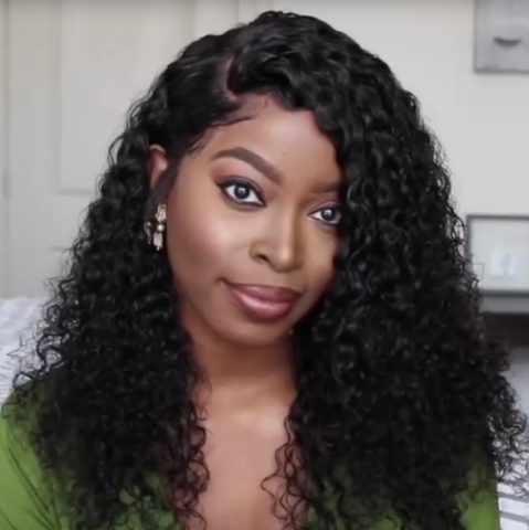 BEAUTIFUL 360 LACE WIG(DEEP WAVE)- - 50%OFF TODAY