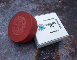 Forever Red Solid Hair Shampoo Bar