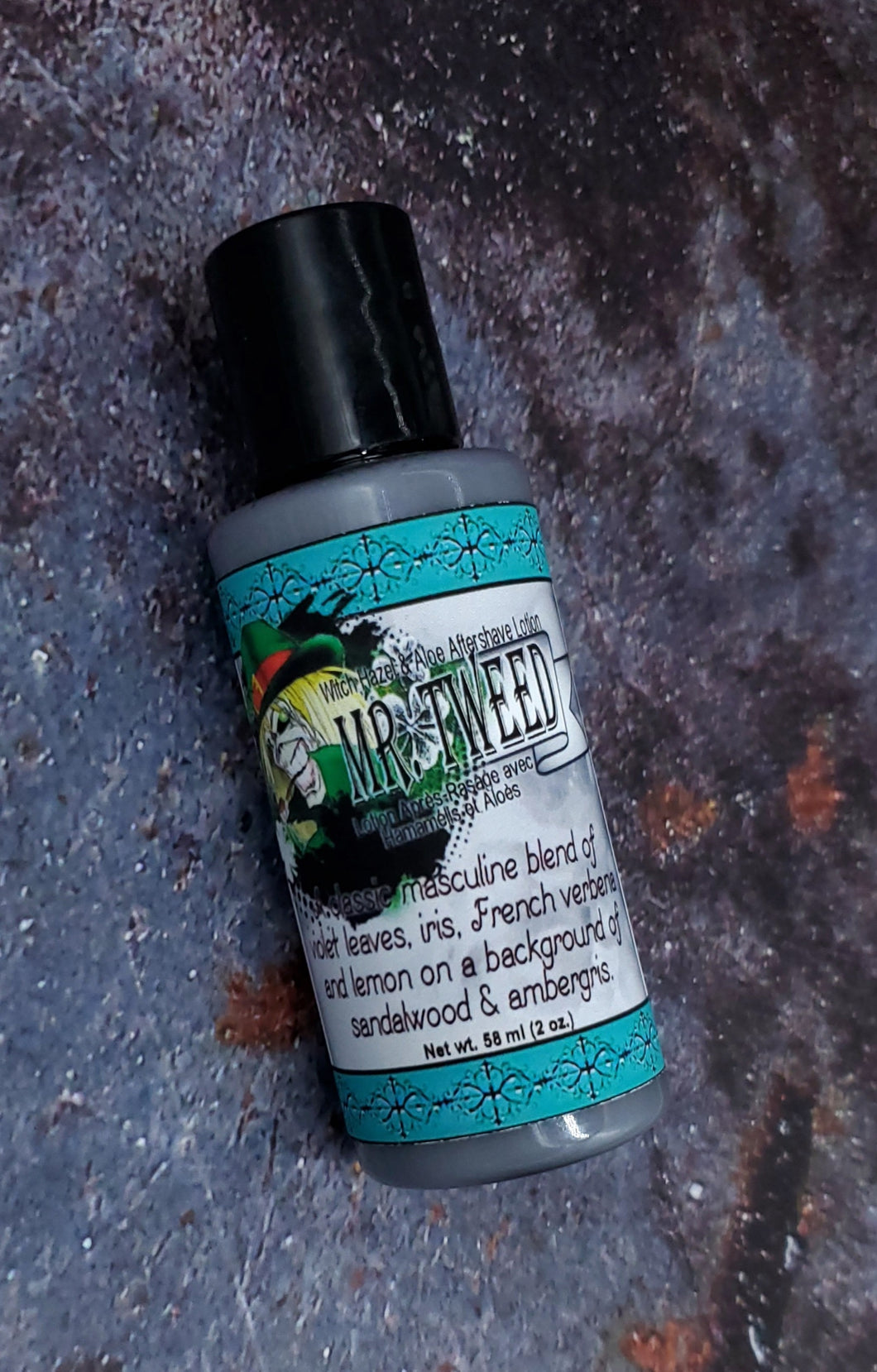 Mr. Tweed Witch Hazel & Aloe Aftershave Lotion