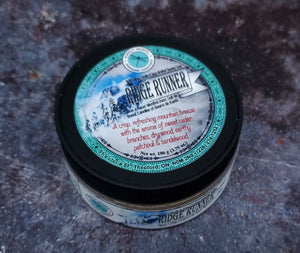 Ridge Runner Beef Tallow Menthol Shave Soap
