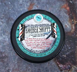 Barber Shoppe Beef Tallow Shave Soap