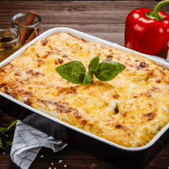 Sausage and Cheese Lasagna for Picky Eaters