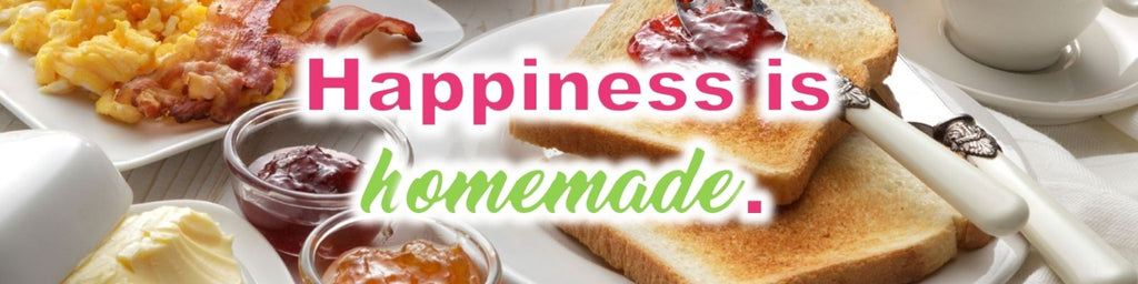 Happiness is homemade | Quick Breakfast Ideas | Kitchen Life Store Being the most important meal of the day, here's a list of some tasty breakfast ideas to help you start the day off on the right foot.