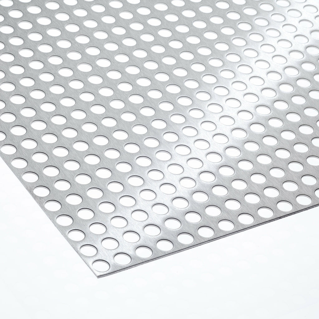 Aluminium Steel Zinc Plated Stainless Steel 1,5mm Perforated Plate QG 10//15 Length 1000mm Cheap