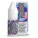 BUBBLEGUM DRUMSTICK ON ICE 10ML NIC SALT BY STRAPPED E LIQUID