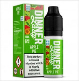 Apple Pie 10ml E Liquid 50/50 by Dinner Lady