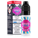 Bubble Gum 10ml e-liquid  10mg/20mg Nic Salt by Dinner Lady