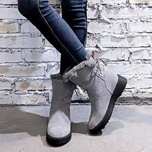 Radiez Casual Bowknot Booties Snow Shoes
