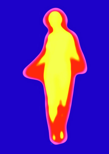 Yellow and Red Flame Dancer