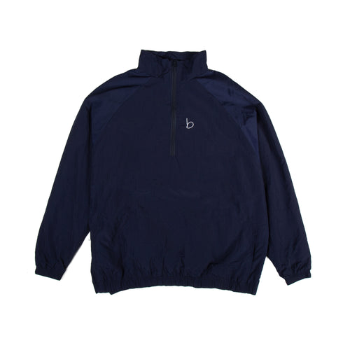 Packable Oversized Windbreaker - Navy Blue