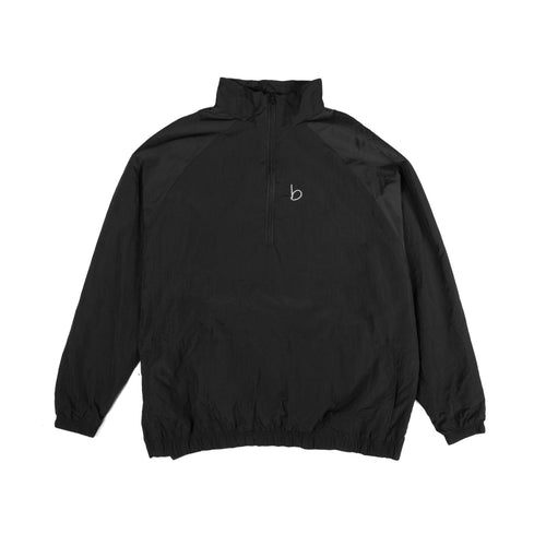 Packable Oversized Windbreaker - Black