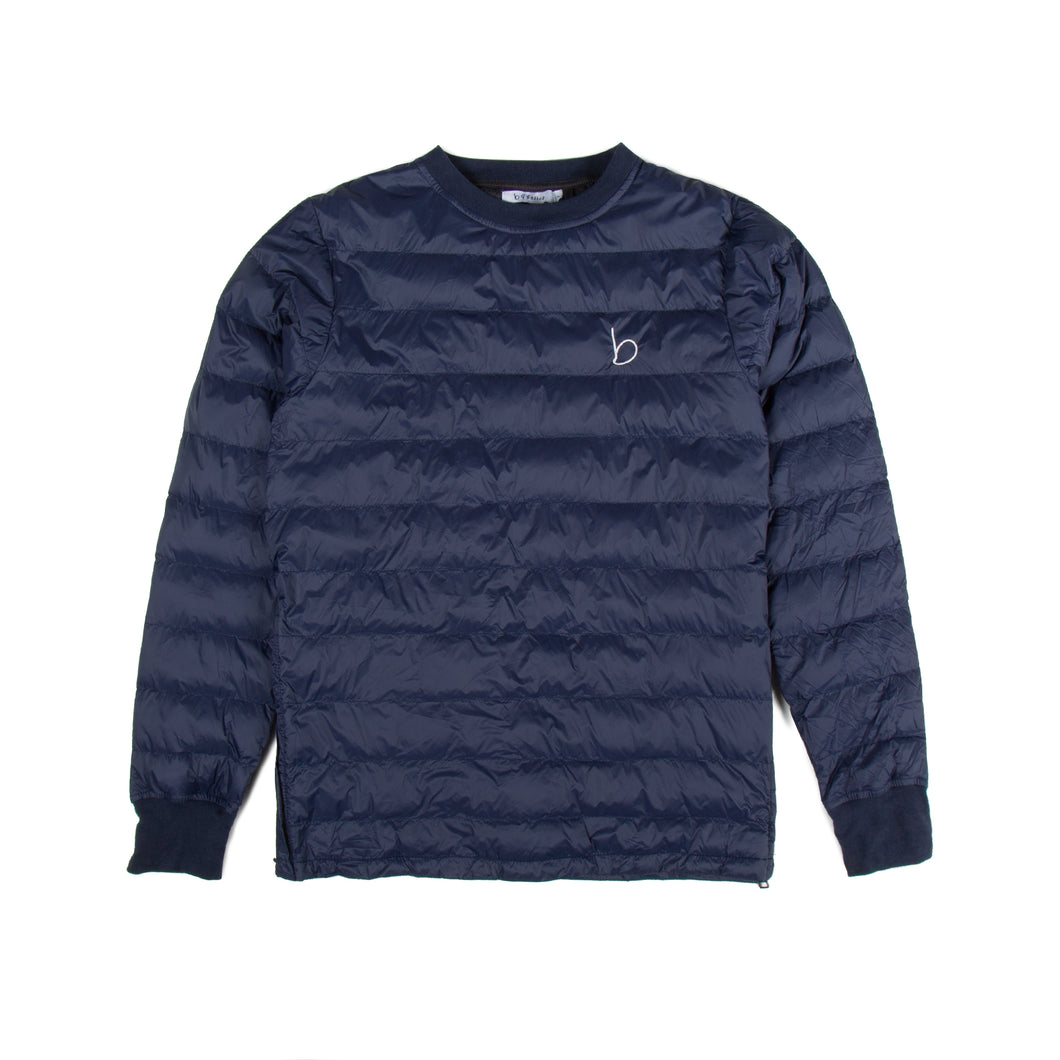 Crew Neck Pull Over - Navy Blue
