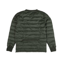 Load image into Gallery viewer, Crewneck Padded Jacket - Khaki
