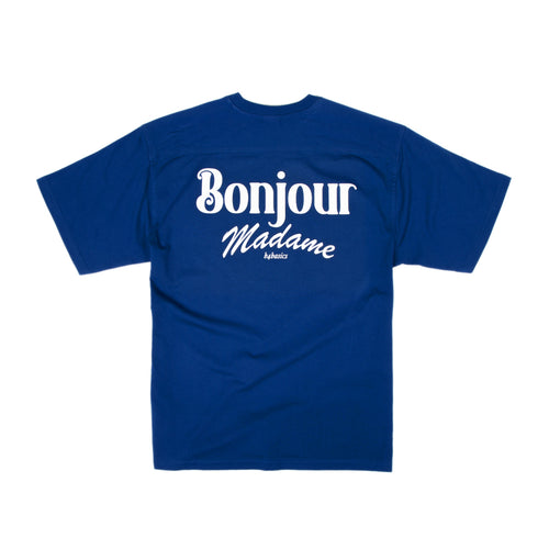 Bonjour Madame Basic tee - Royal Blue