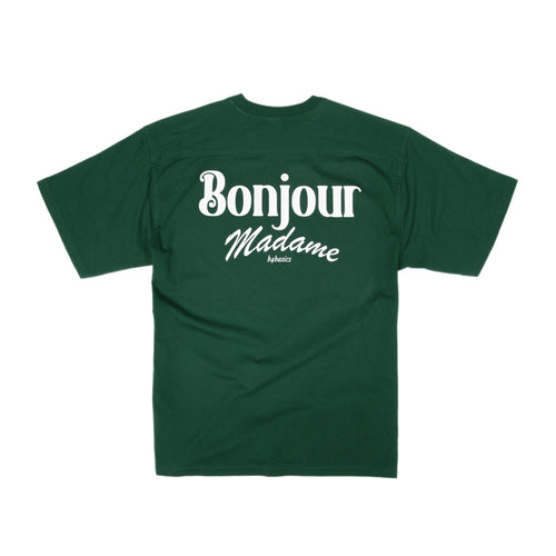 Bonjour Madame Basic Tee - Forest Green